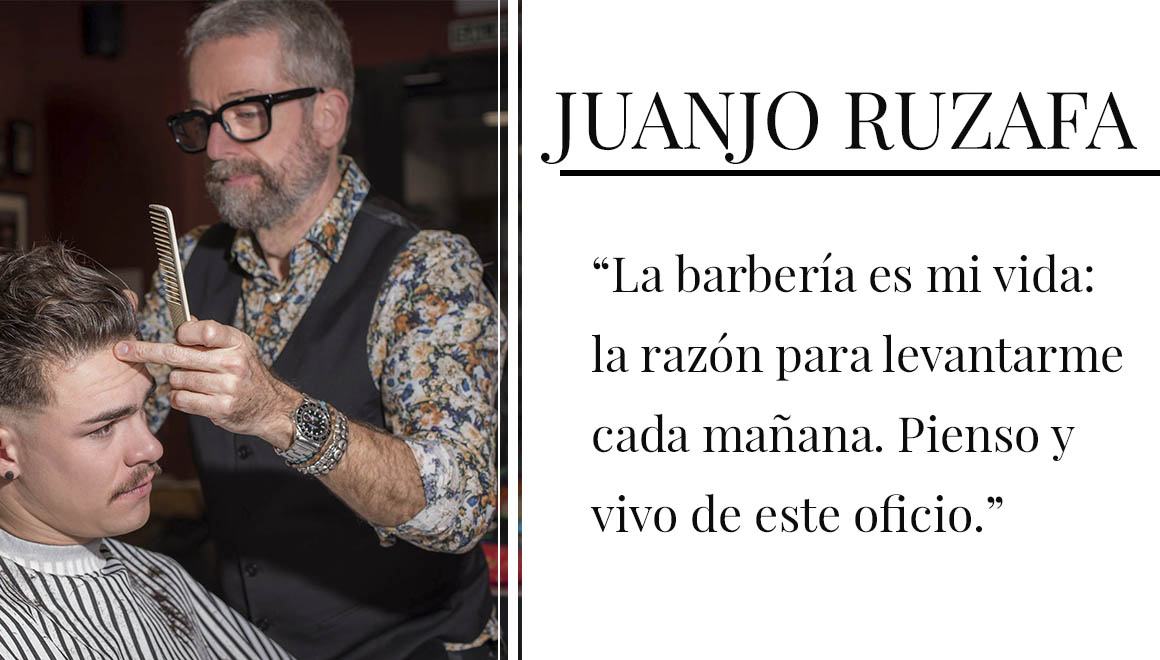Barbero Juanjo Ruzafa